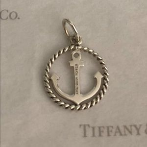 Tiffany & Co. Jewelry - Tiffany & Co. Twist Anchor Charm/Pendant